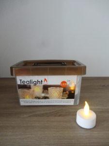 Lot de 24 bougies chauffe plat LED - Ma déco aux petits oignons