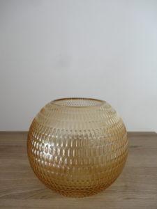 Vase boule ambré - Ma déco aux petits oignons