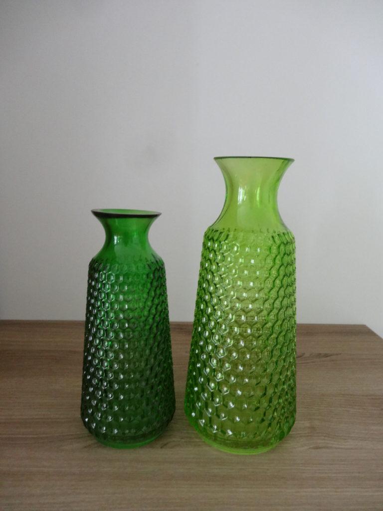 Vases verts - Ma déco aux petits oignons