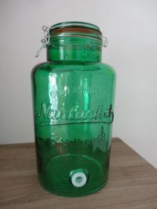 Fontaine à boisson verte - Ma déco aux petits oignons