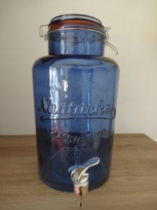 Fontaine à boissons bleue - Ma déco aux petits oignons