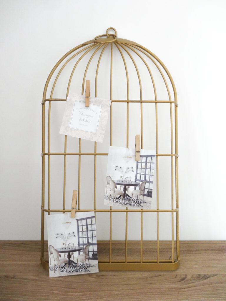 Porte photos en forme de cage - Ma déco aux petits oignons (2)