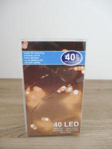 Guirlande fil 40 LED - Ma déco aux petits oignons