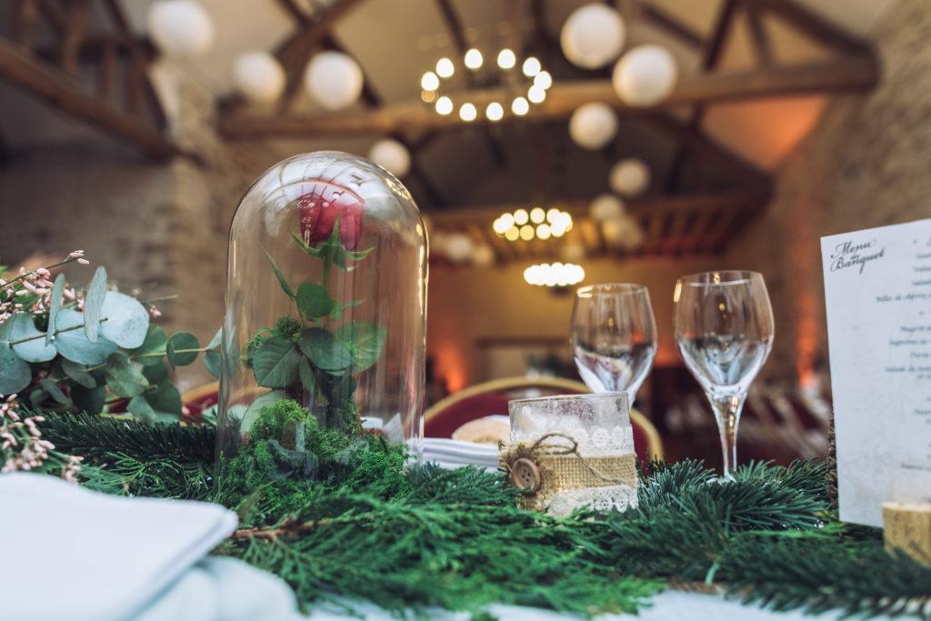 Décoration de table mariage Jo & So