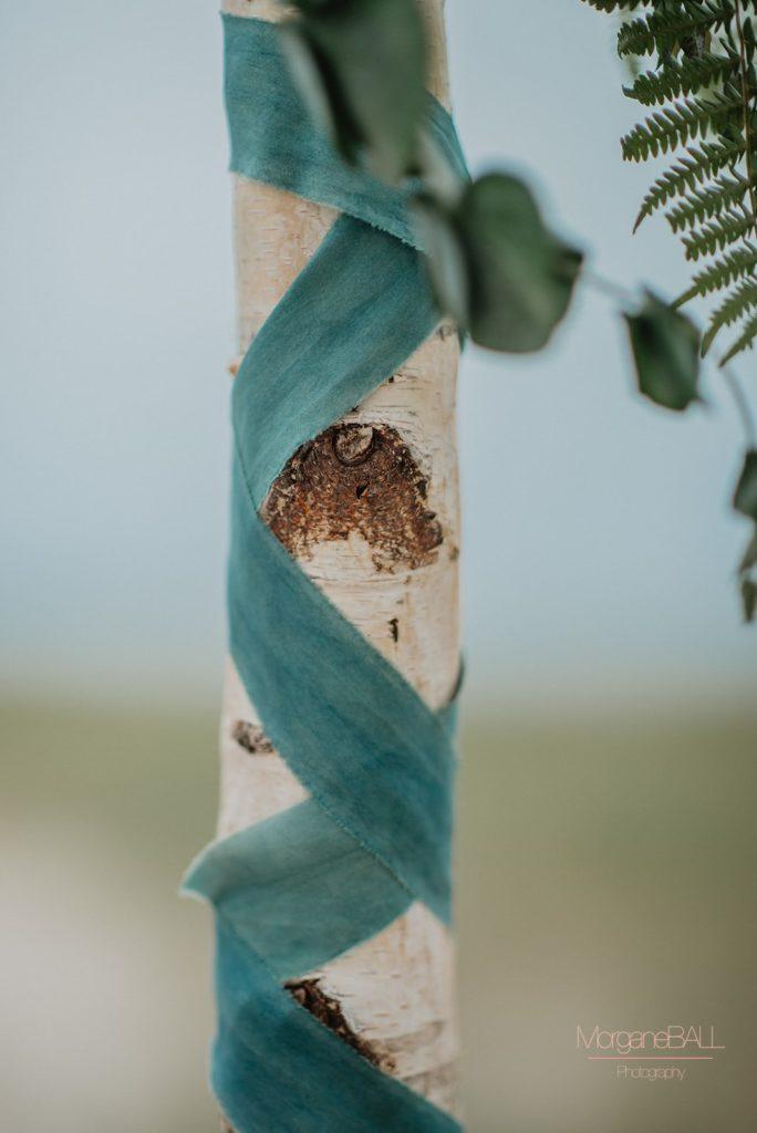Ma déco aux petits oignons - Shooting d'inspiration tropical - rubans