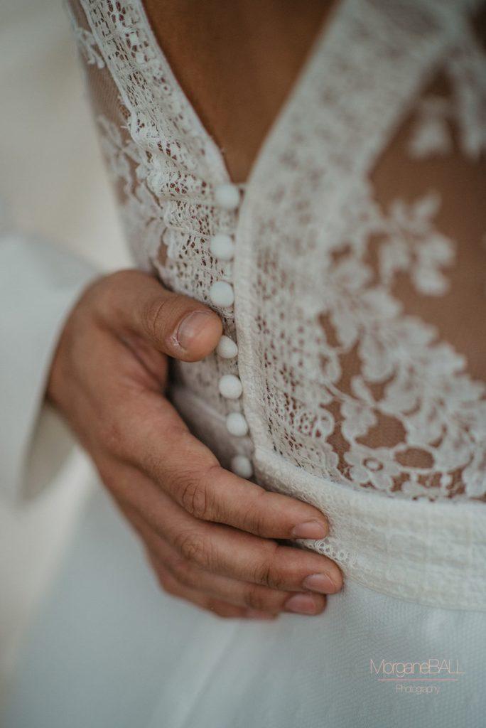 Ma déco aux petits oignons - Shooting d'inspiration tropical - robe de mariée