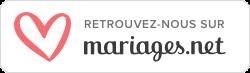 Retrouvez-nous sur Mariages.net