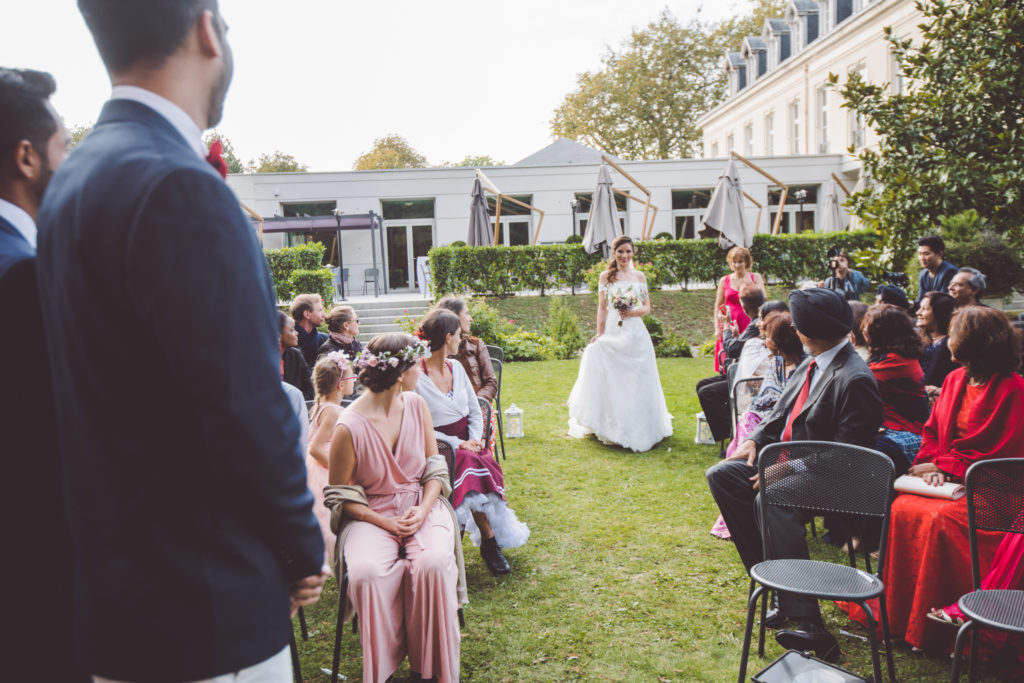 Mariage Cynthia et Prem au Château de Maffliers