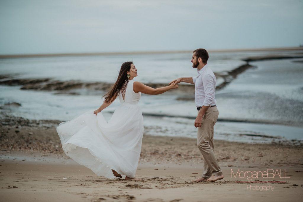 Ma déco aux petits oignons - Shooting d'inspiration tropical - table et mariés